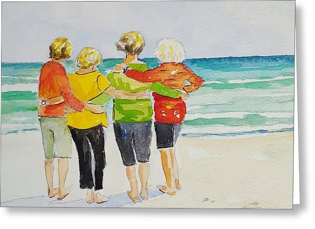 Joy, Phil. 4.1 Greeting Card by Jill Morris