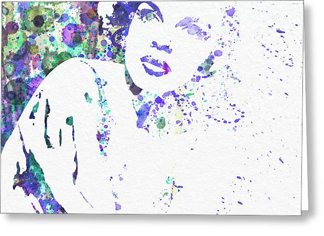 Judy Garland Greeting Card by Naxart Studio