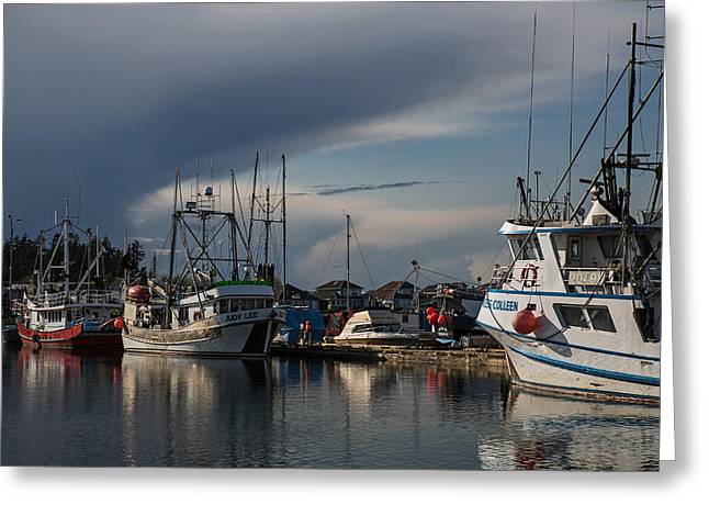 French Creek Marina Greeting Cards - Judy Lee Greeting Card by Randy Hall