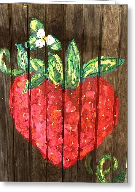 Doralynn Lowe Greeting Cards - Juicy Berry Greeting Card by Doralynn Lowe