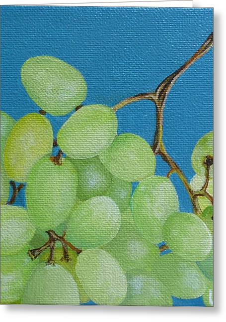 Juicy Grapes Greeting Card by Tammy Watt