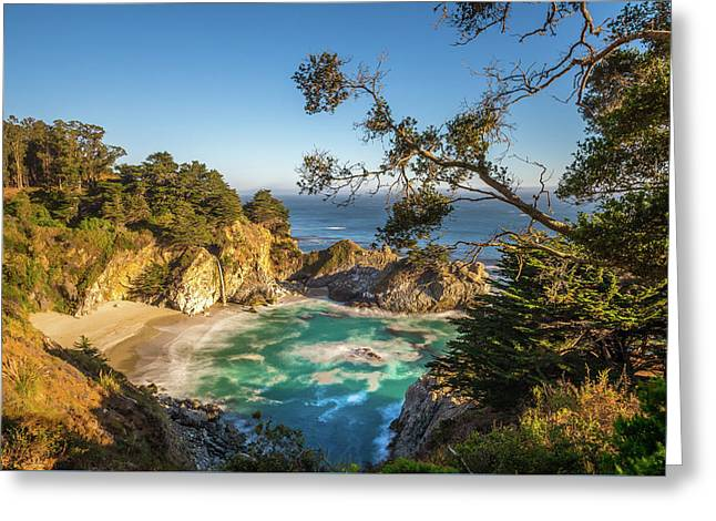 Julia Pfeiffer Burns State Park California Greeting Card by Scott McGuire