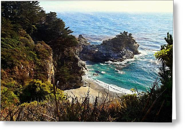 Julia Pfieffer State Park - Big Sur Greeting Card by Glenn McCarthy Art and Photography
