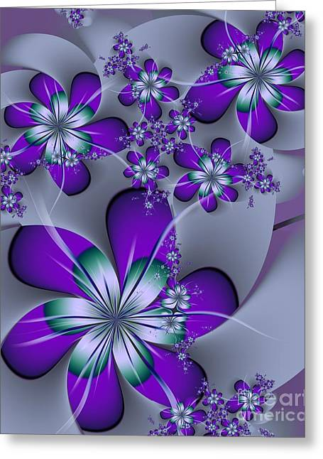 Michelle Greeting Cards - Julia The Florist Greeting Card by Michelle H