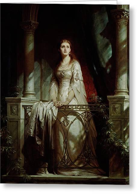 Juliet, 1877 Greeting Card by Thomas-Francis Dicksee