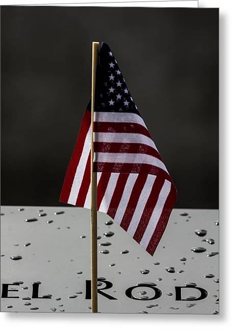 4th July Greeting Cards - July 4 2015 World Trade Center Memoria Greeting Card by Robert Ullmann