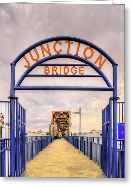 Arkansas Greeting Cards - Junction Bridge Little Rock Greeting Card by JC Findley