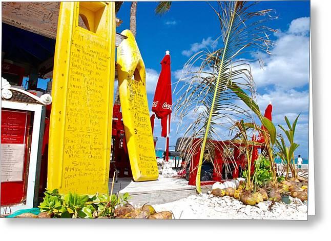 Junkanoo Beach Options Greeting Card by David Coleman