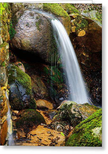 Just A Very Small Waterfall II Greeting Card by Marco Oliveira