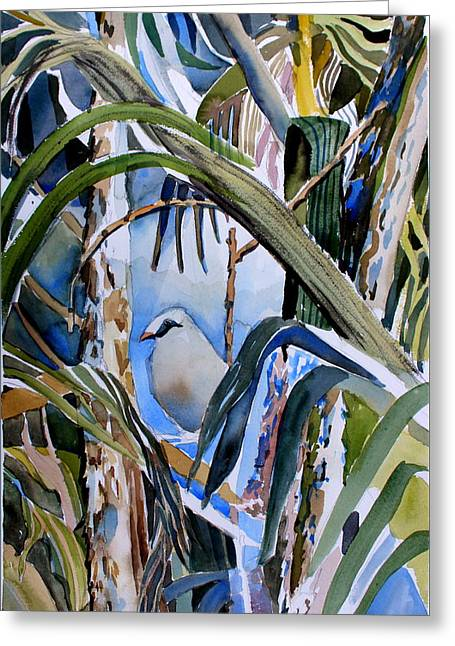 Just Being Greeting Card by Mindy Newman