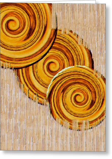 Just Bread Greeting Card by Pepita Selles