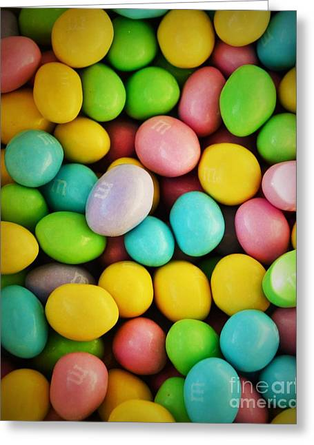 Youthful Greeting Cards - Just Candy Greeting Card by Pamela Blizzard