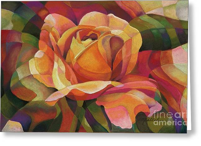 Rose Petals Pastels Greeting Cards - Just Friends Greeting Card by Marilyn Callahan
