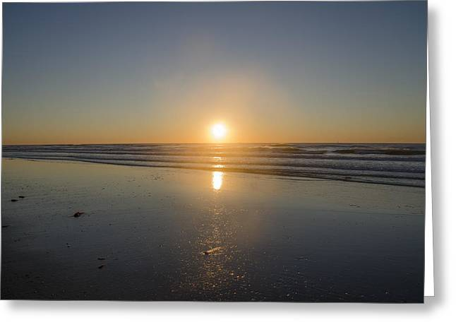 Just Right At Sunrise Greeting Card by Bill Cannon