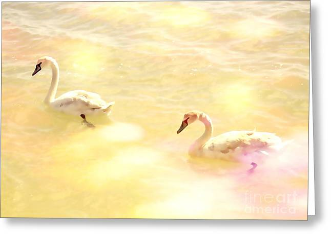 Animals Love Greeting Cards - Just the two of us Greeting Card by Flash28photography