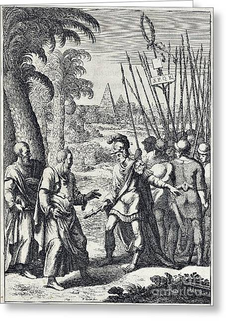 Roman Citizen Greeting Cards - Juvenals Satires, Manners Of Men Greeting Card by Folger Shakespeare Library