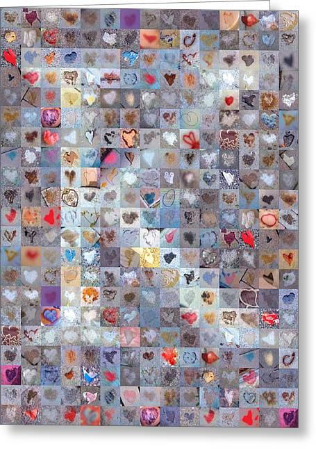 Found Greeting Cards - K in Confetti Greeting Card by Boy Sees Hearts