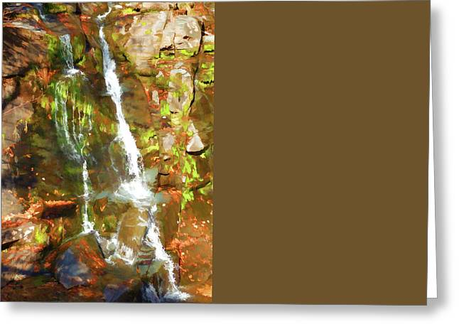 Park Greeting Cards - Kaaterskill Falls 1 Greeting Card by Lanjee Chee