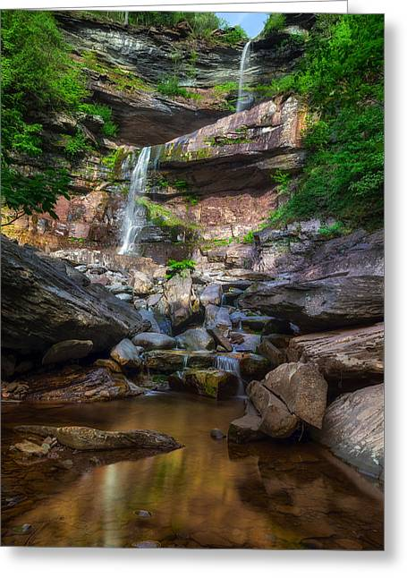 Kaaterskill Falls Greeting Card by Mark Papke