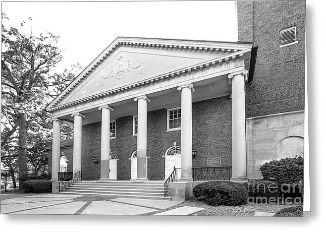 Kalamazoo College Stetson Chapel Greeting Card by University Icons