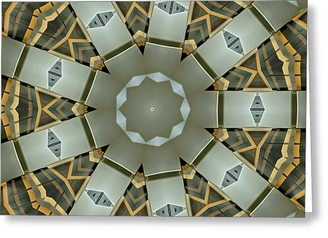 Kaleidoscope 82 Greeting Card by Ron Bissett