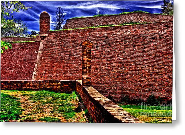 Kalemegdan Greeting Cards - Kalemegdan Fortress Belgrade Greeting Card by Milan Karadzic