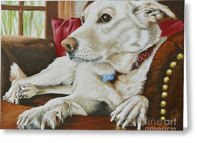 Sit-ins Greeting Cards - Kali Greeting Card by Claudine Pond