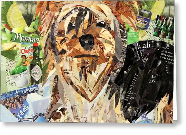 Kali Greeting Card by Paula Dickerhoff