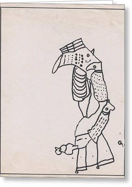 Kanaroo Greeting Card by Gaurav Agrawal