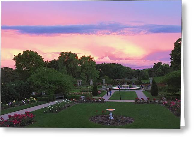 Loose Digital Greeting Cards - Kansas Citys Loose Park #2 Greeting Card by Stacia Blase