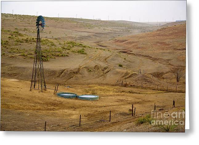 Jon Burch Photography Greeting Cards - Kansas Watering Hole Greeting Card by Jon Burch Photography