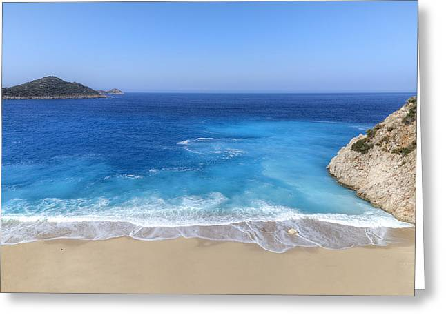 Meds Greeting Cards - Kaputas Beach - Turkey Greeting Card by Joana Kruse