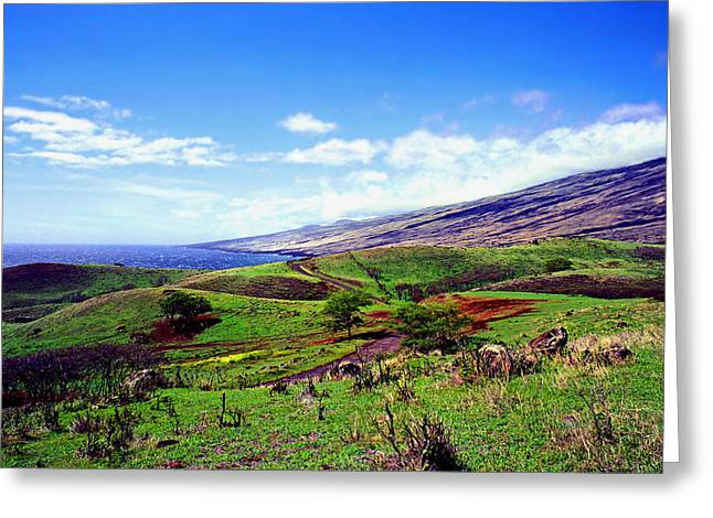 Kevin Smith Greeting Cards - Kaupo Ranch Greeting Card by Kevin Smith