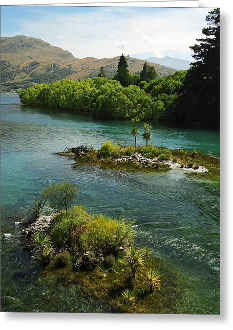 Lord Of The Rings Photographs Greeting Cards - Kawerau River Greeting Card by Kevin Smith