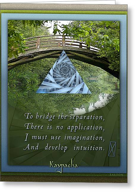 Self Discovery Greeting Cards - Kaypachas mantra 5.19.2015 Greeting Card by Richard Laeton