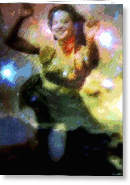 Best Sellers -  - Empower Greeting Cards - Kee Hula Uhane Greeting Card by Kenneth Grzesik