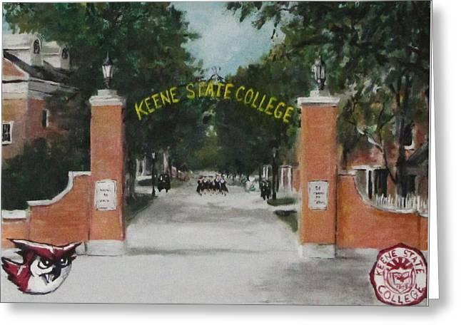 Jack Skinner Greeting Cards - Keene State College Greeting Card by Jack Skinner