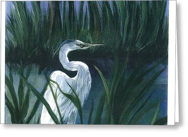 Keep of the Pond I Greeting Card by Shirley Lawing