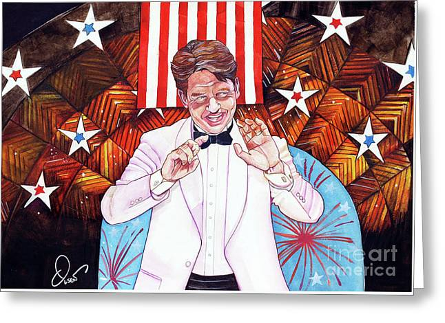 Keith Lockhart And The Boston Pops 4th Of July Greeting Card by Dave Olsen