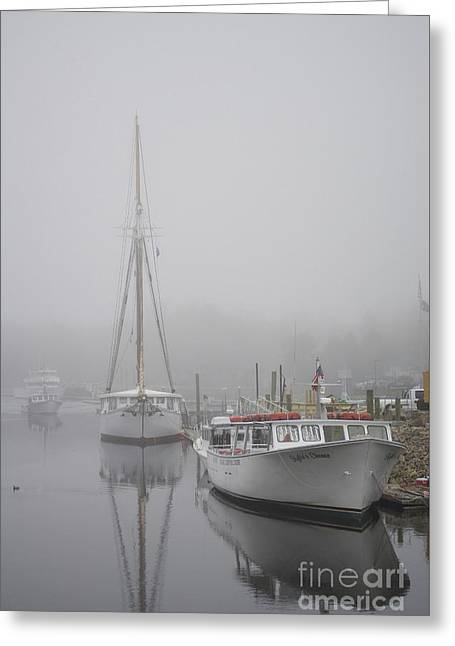 Kennebunkport 1 Greeting Card by Skip Willits