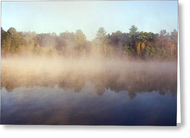 Kennedy Pond Greeting Card by Frank Winters