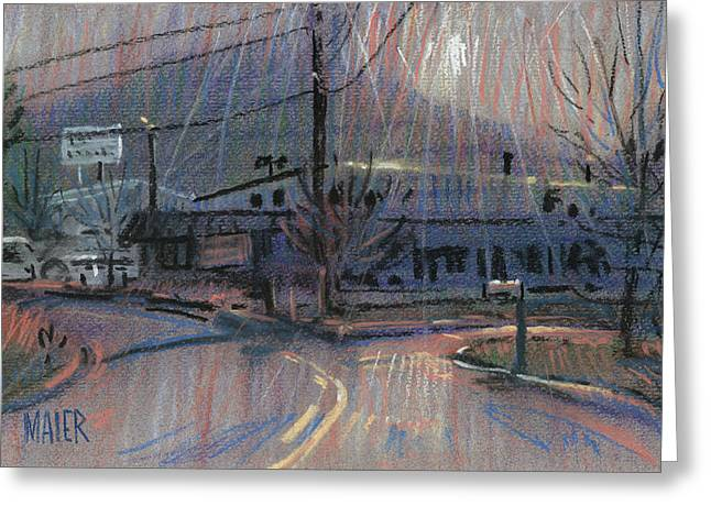 Plein Air Pastels Greeting Cards - Kennesaws Shadow Greeting Card by Donald Maier