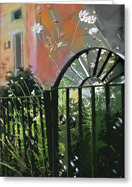 House Work Greeting Cards - Kensington Market Gate Greeting Card by Bob Salo