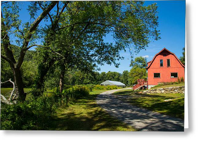 Farm Stand Greeting Cards - Kent Land Trust Greeting Card by Karol  Livote