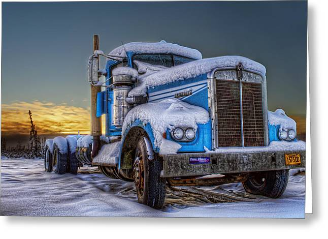 Kenworth Waiting For Summer Greeting Card by Thomas Payer