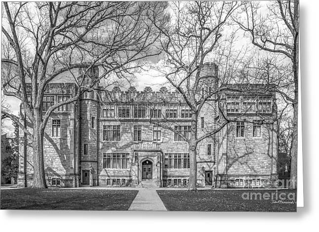 Episcopalian Greeting Cards - Kenyon College Mather Hall Greeting Card by University Icons