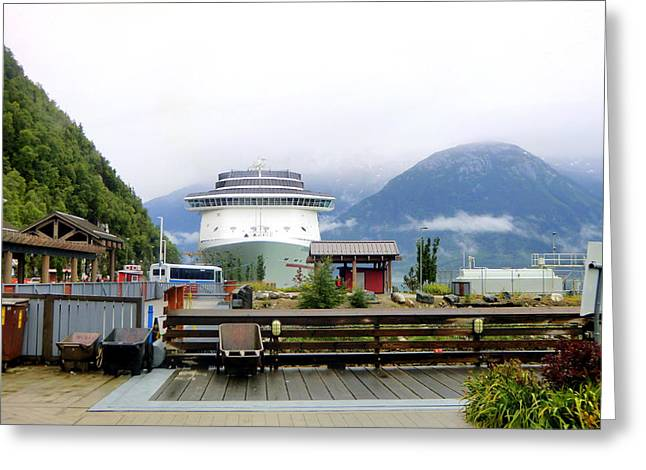 Ketchikan Alaska  Greeting Card by Mindy Newman