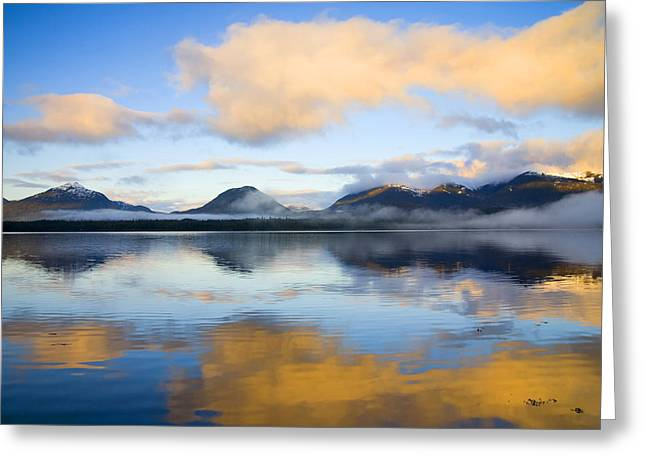 Ketchikan Greeting Cards - Ketchikan Sunrise Greeting Card by Mike  Dawson