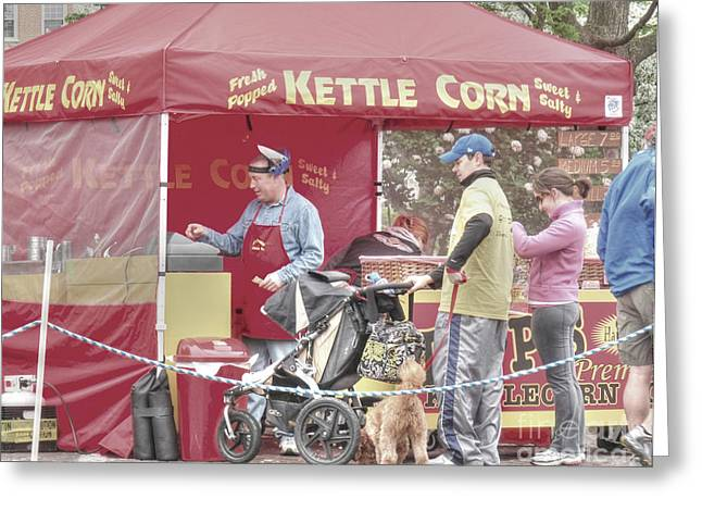 Street Fairs Greeting Cards - Kettle Corn Greeting Card by David Bearden