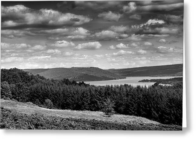 Keuka Landscape I Greeting Card by Steven Ainsworth